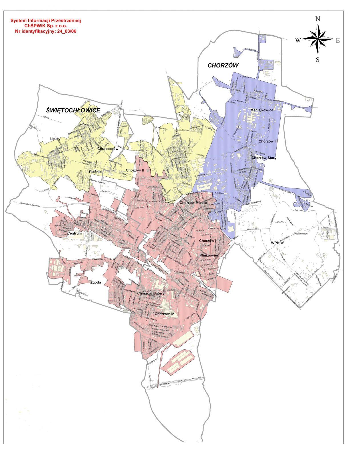 Mapa stref zasilania do 31.12.2020 r.